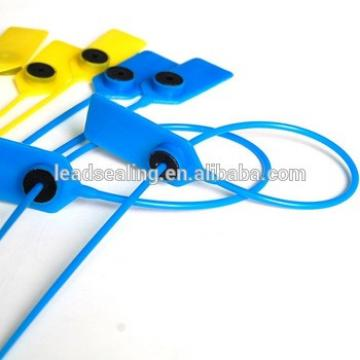 High security plastic seal custom seal flexible plastic sealing strips